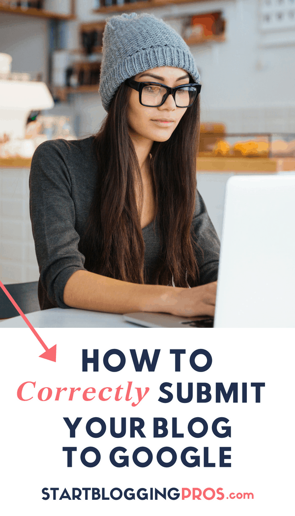 Blogging tips SEO how to Submit URL To Google How To Add Your Blog To Google seo tips startbloggingpros.com