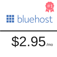 cheap webhosting cheap wordpress hosting bluehost logo