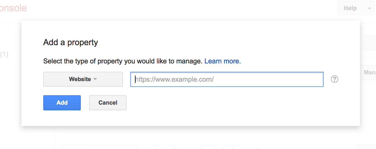 submit url to google how to add website to google