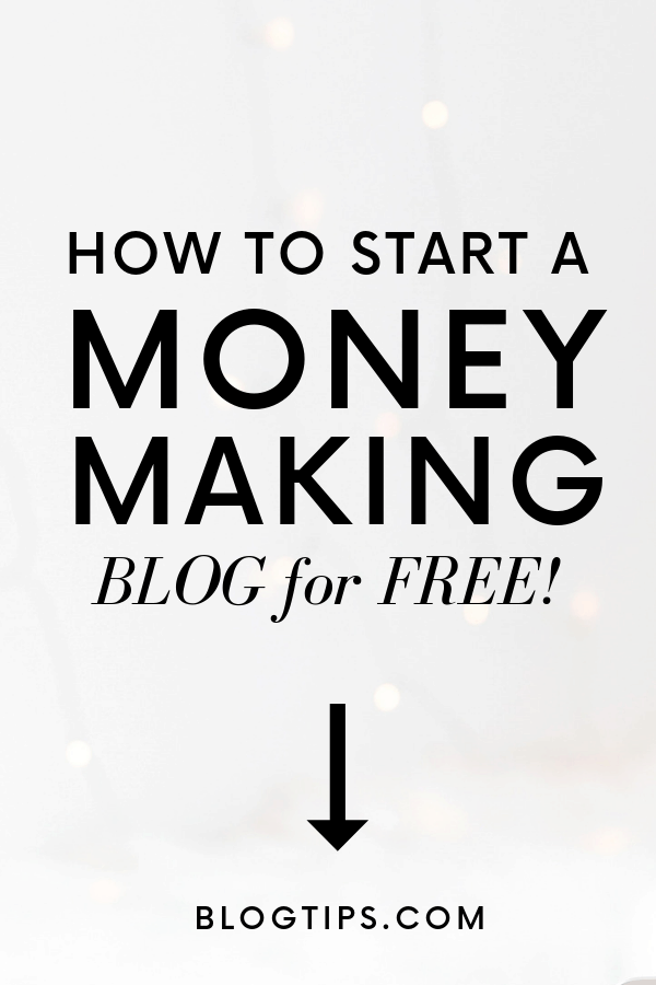 How to start a money making blog with SiteGround start a blog for free BlogTips.com