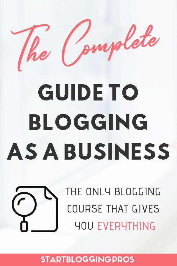 The Only Blogging Course You Will Ever Need: Be Your Own Blog Boss Best Blogging Course Blog Monetization Course, make money blogging how bloggers make money herpaperroute startbloggingpros.com