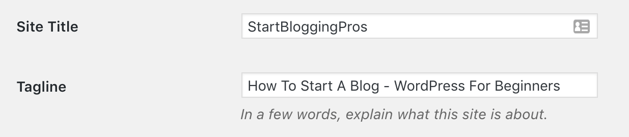 How to set WordPress blog name and tagline 30 Important things to do after installing WordPress startbloggingpros How to create WordPress categories 30 Important things to do after installing WordPress startbloggingpros.com