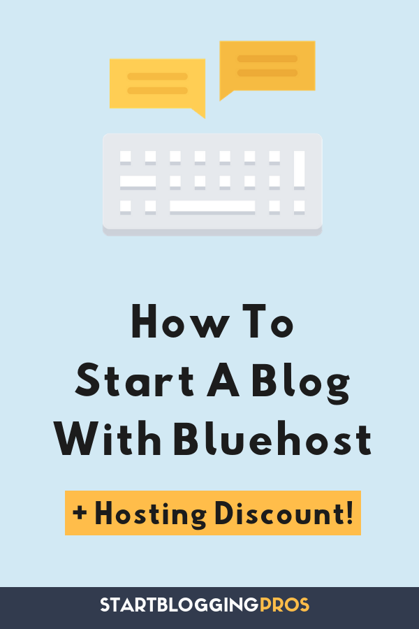 How to start a blog with Bluehost Coupon, best cheap wordpress hosting deals, WordPress tips, How to start a blog for cheap, StartBloggingPros, how to start a self-hosted blog with Bluehost, how to start a blog from scratch for cheap start a blog for free, startbloggingpros.com