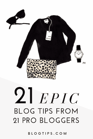 Amazing blog tips from pro bloggers - 21 epic blogging tips from successful bloggers, starting a blog #makemoneyblogging #seo #bloggingtips 21 pro #bloggers share tips for #newbloggers BlogTips.com