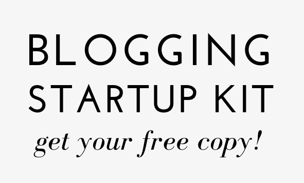 Blogging startup kit blog tips BlogTips.com