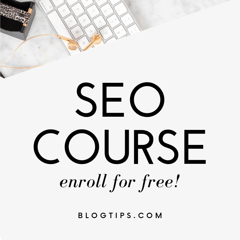 Free SEO course, best SEO course, seo basics training blogtips blogtips.com