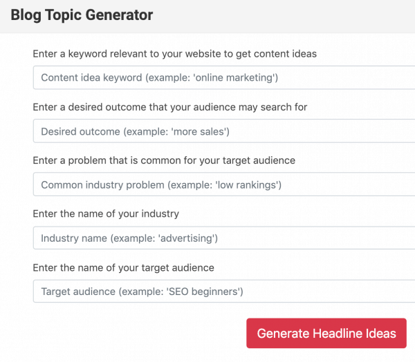Headline Generator best headline generators 10 tips write great Blog Titles That Get Clicks BlogTips.com