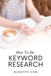 How To Do Keyword Research For Free