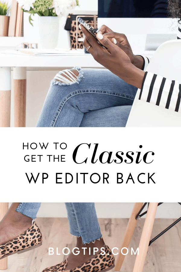 How to restore the classic editor, WordPress Gutenberg, blogging tips, @BlogTips_ Protect Your Blog From A Google Penalty! Get the classic editor back with one click! #bloggingtips #wordpress BlogTips.com