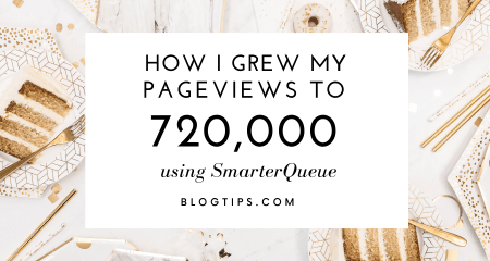 SmarterQueue To Get 720k Page Views, SmarterQueue free trial, SmarterQueue for free , schedule tweets, evergreen recycling, social media marketing tool #blogtips @blogtips_ BlogTips.com