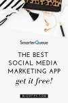 SmarterQueue Free Month - Social Media Marketing App 1