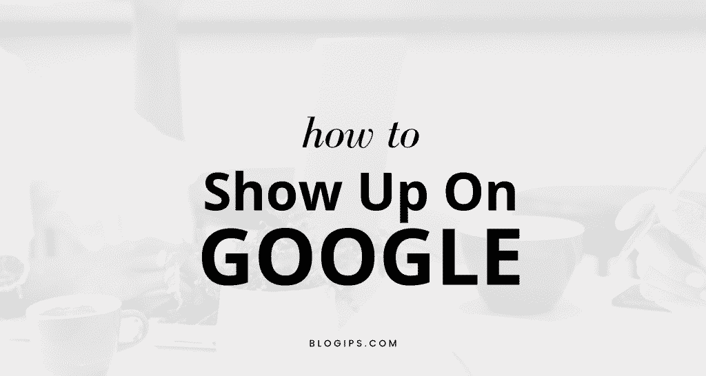 How to show up on google - Submit URL To Google Search Console (4 Easy Steps) How to submit URL to Google and grow your blog traffic!