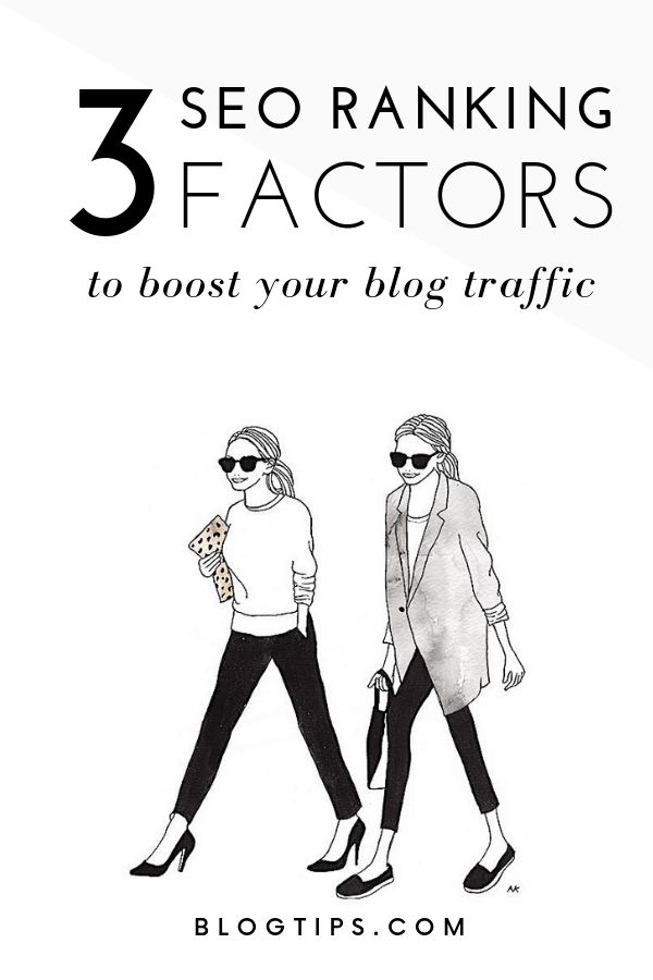 3 SEO Ranking Factors To Boost Your Organic Traffic SEO tips blogging tips #seotips #blogtraffic #SEO #traffic #organictraffic #blogtips @blogtips_ BlogTips.com