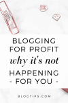 Blogging For Profit - 6 Monetization Tips For Professional Bloggers