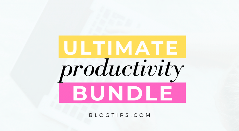 What's Inside The Ultimate Productivity Bundle 2020